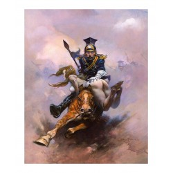 Frank Frazetta - Flashman at the Charge - 1974