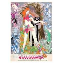 Eiichi Yamamoto - Belladonna of Sadness - 1973 - Japanese B2 film movie