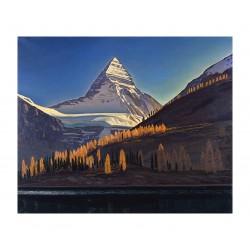 Rockwell Kent - Mount Assiniboine - Canadian Rockies_pa