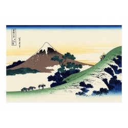 Hokusai Katsushika - Inume pass in the Kai province_di_land