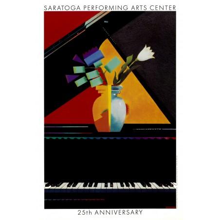 Milton Glaser - Saratoga 25th Anniversary -1990_di