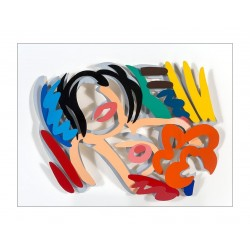 Tom Wesselmann - Maquette for Big Blonde - 1990_pa_popa