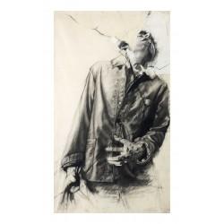 Ernest Pignon Ernest - Grenoble 1976_pa_stre