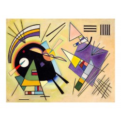 Wassily Kandinsky - Black and Violet - 1923_pa