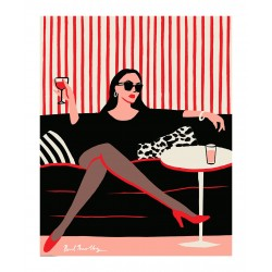 Paul Thurlby - Black Sofa_di_fash
