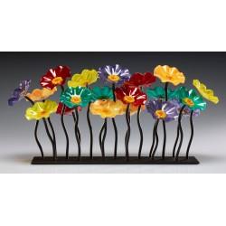Scott and Shawn Johnson - Flowers Art Glass Sculpture 1_au_stil
