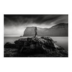 Hans Pauli Olsen - Kopakonan - Seal Woman - photo by Mike Mojopin_ph_bw