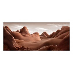 Carl Warner - creates Bodyscapes -Valley of the reclining...