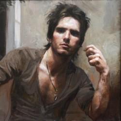 Guillermo Lorca Garcia Huidobro - self portrait_pa