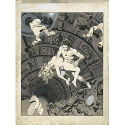 Wally Wood - Freeball - Weird Sex Fantasy portfolio - 1977