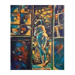 Joanna Drzewiecka Popis - After the bath - 2021_pa_nude