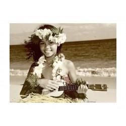 Himani Smeaton - Hawaiian ukulele girl