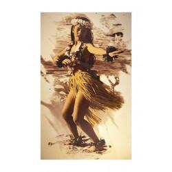 Himani Smeaton - Hula dancer on the beach