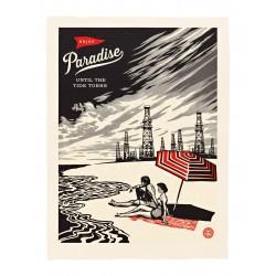 Shepard Fairey -Paradise Turns_di