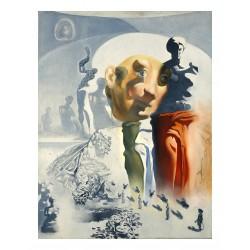 Salvador Dali - The Face - 1972_pa_pmas