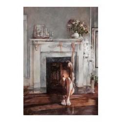 Xi Guo - Fireplace_pa_xiguowatercolor.com