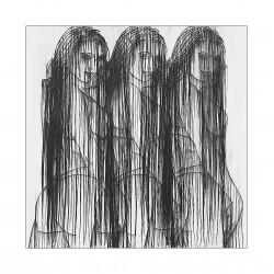 Ghada Amer - HEND - with embroidery