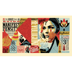Shepard Fairey - Obey Ideal Power - his first NFT - 2021_di