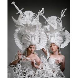 Karina Saporta - costume from Asya Kozina - Performances...