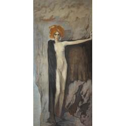 Marchesa Luisa Casati - by Romaine Brooks - 1920