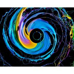 Fabian Oefner - Black Hole serie