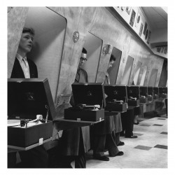 Funny - Customers at a London Music Store - 1955
