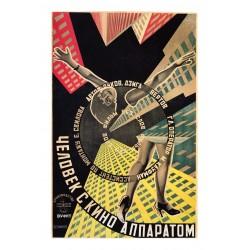Georgii and Vladimir Sternberg - L HOMME A LA CAMERA movie from Dziga Vertov - 1929