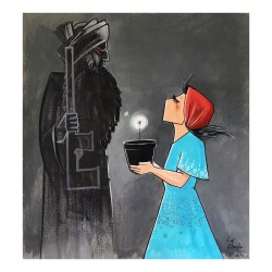 Shamsia Hassani - Looks like you need some light sir_pa