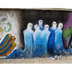 Shamsia Hassani - street art - Kabul
