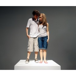 Ron Mueck - Young couple - 2013