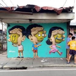 Blic Pinas - street art