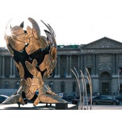 Hopare - each day a temporal dissociation - Palais du Louvre - Paris_sc_scu
