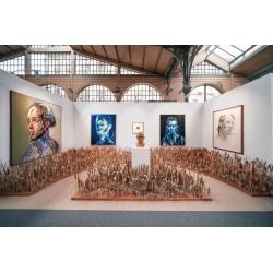 Hopare - urban Art fair at Carreau du Temple - Paris