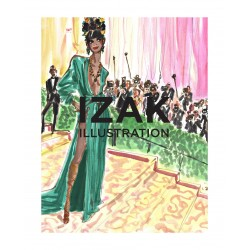 Izak Zenou - Fashion illustration book_di_fash_instagram.com+izakzenou_illustrationist