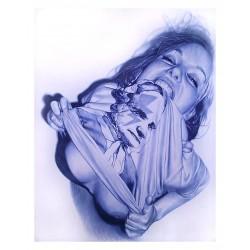 Juan Francisco Casas - Ballpoint pen_di_nude_hype