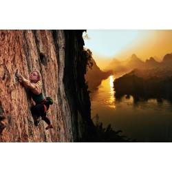 Adam Pretty - Amy Dunlop climbing The Dentist- Yangshuo Guilin - China_ph_land_http!++www.adampretty.com