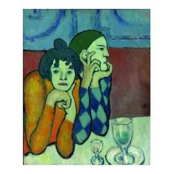 Fondation Louis Vuitton - Collection Morozov - sep21 feb22 - Deux acrobates - Arlequin et son compagnon by Picasso_pa_pmas