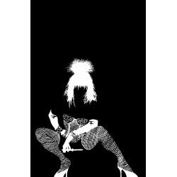 Frank Miller - comics Sin City - Nancy Callahan