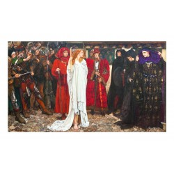 Edwin Austin Abbey - The penance of Eleanor Gloucester - Shakespeare s Henri IV - 1900_pa_en.wikipedia.org+wiki+Edwin_Austin_Abb