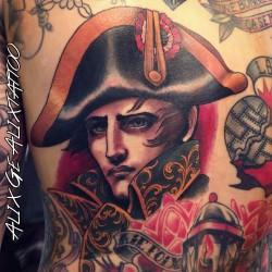 Alix Ge - Napoleon tattoo