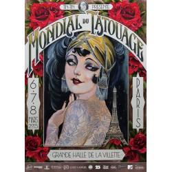 Alix Ge - Poster Mondial Tattoo Paris 2015
