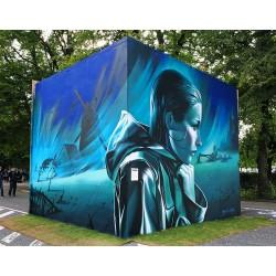 Bogdan Scutaru - Aarhus street Art festival 2017