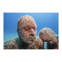 Jason deCaires Taylor - The Raft of Lampedusa - degtail_sc_scu_wate