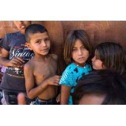 Margarita Mavromichalis - Children regugee after few...
