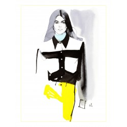 Marc Antroine Coulon - Kaia Gerber - Calvin Klein spring-summer fashion show 2018_di_fash