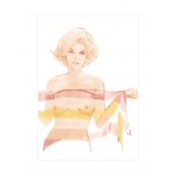 Marc Antroine Coulon - portrait Marylin Monroe