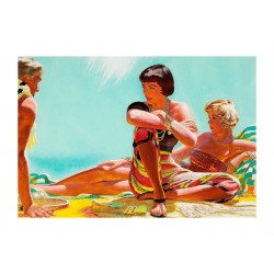 Edwin Georgi - Girls on the beach_pa