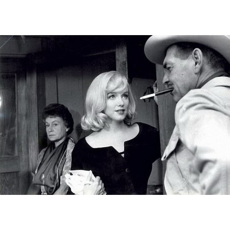 Henri Cartier Bresson 5 - Marilyn Monroe Clark Gable