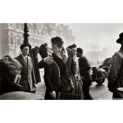 Robert Doisneau - Le baiser de l hotel de ville -