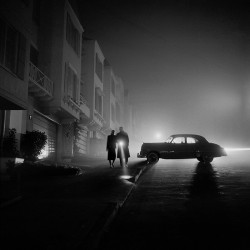 Fred Lyon - Foggy Night - 1953
